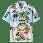 MICKEY MOUSE - SUMMER TIME HAWAIIAN SHIRT