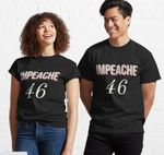 Impeach 46 Joe Biden Republican Conservative Classic T-Shirt
