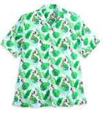 Disney Mickey Mouse Tropical Hawaiian Shirt