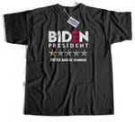 Biden Bad Review T-Shirt | Biden Memes | Funny Political Shirts
