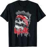 Vintage Machines Gun Art Kellys Band Music Legend T-Shirt