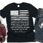 Patriotic Shirt, Anti Biden Shirt, Republican T-shirt, Ronald Reagan shirt, Free Speech, Anti Cancel Culture