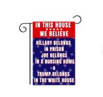 Anti Biden Garden Flag, Joe Biden Sucks Funny Garden Flag for Trump Supporters and Republicans, Lawn Sign Garden Flag Anti Biden