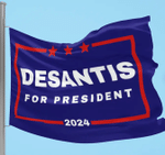Ron DeSantis 2024 Wall Flag,DeSantis For President Flag for Republicans and Supporters of the Florida Governor