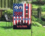 20 Years Anniversary Never Forget House Garden Flag, Proud American First Responder Remembrance Day