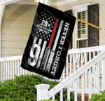 20th Anniversary 9-11 Never Forget House Garden Flag