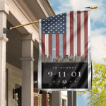 9/11 Flag Patriot Day We Remember Garden Flag, Historical US Memorial Ceremonies House Flag
