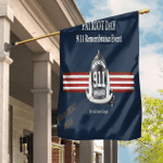 9/11 Flag Patriot Day We Remember Garden Flag Sep 11th Memorial Ceremonies House Flag