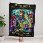 Hocus Pocus 28th Anniversary Blanket, Halloween Blanket