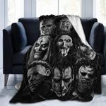 Horror Movie Character Ultra-Soft Micro Fleece Xmas Halloween Throw Blanket Birthday Gift