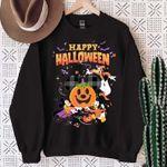 Disney Halloween SweatShirt, Halloween Disney Boo SweatShirt, Mickey Halloween, Funny Halloween, Disney Pumpkin SweatShirt