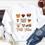 Disney Fall SweatShirt, Fall Disney, Fall Vibes Shirt, Disney Snack SweatShirt, Disney Pumpkin, Disney Trip SweatShirt