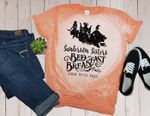 Hocus Pocus Inspired Sanderson Sister Bleached T-Shirt Halloween / Bed & Breakfast 2
