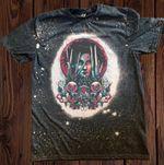 .Edward Scissorhands Bleached Shirt   Halloween Shirt   Beetlejuice   Ja.ck Sk.elling.ton   Sally   Black Cat   Johnny Depp