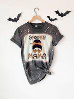 .Spooky Mama Shirt, Spooky Mom Shirt, Halloween Mom Shirt, Halloween Shirt for Mom