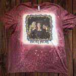 Hocus Pocus Tshirt, Sanderson Sisters Shirt, Halloween Shirt, Winifred Sarah Mary Shirt, Hocus Pocus Bleached Shirt 2