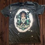 .Wednesday Addams The Addams Family Bleached Shirt | Halloween T-shirt