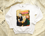 Halloween Dunkin Donuts sweatshirt, Halloween Horror Movie Killers, Horror Movie Killers, Jason Voorhees And Michael Myers Hoodie