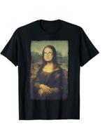 The Bubba Lisa or Mona Lisa Leonardo da Vinci T-Shirt