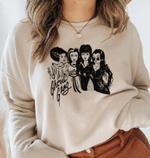 Girl Ghoul Gang Sweatshirt, Halloween Friends Squad Sweatshirt, Cute Halloween