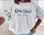Stay Golden Sweatshirt, Golden Girls, Cute Halloween Sweatshirt