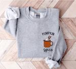 Pumpkin Spice Sweatshirt, Pumpkin Spice Shirt, Fall Coffee Sweatshirt