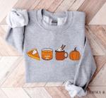 Fall Sweatshirt for Women, Pumpkin Spice Sweatshirt, Pumpkin Sweatshirt