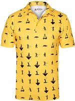 Awesome Crazy Funny Golf Mens Polo Shirt 5