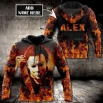 Personalized Michael Myers Horror Customized 3D Hoodie, Michael Myers All Over Printed Hoodie