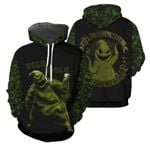 Oogie Boogie Well Well Well Nightmare Before Christmas All Over Print 3D Hoodie