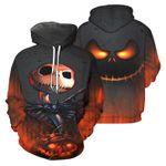 Jack Skellington 04 The Nightmare Before Christmas All Over Print 3D Hoodie