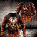 Jason Voorhees Horror 3D Hoodie, Jason Voorhee All Over Printed Hoodie