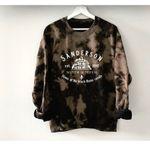 Hocus Pocus Sanderson Witch Museum Halloween Reverse Bleach Acid Wash Sweatshirt