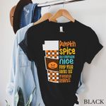 Pumpkin Spice and Reproductive Rights, Pro Choice Shirt, Feminist T-shirt, Womens Rights Protest