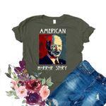 Anti Biden Shirt American Horror Story Adult Humor Shirts Funny Political Gift T Shirt