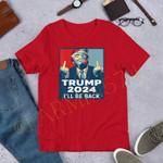 Trump 2024 Shirt |Mean Tweets|Donald Trump|President Trump|Anti Biden|Trump I'll Be Back|Humor Politics