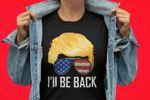 Trump I'll Be Back Patriot 2020 2024 Shirt