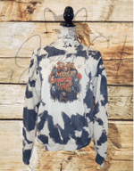 It's the Most Wonderful Time of the Year Bleached Sweatshirt, Happy Halloween