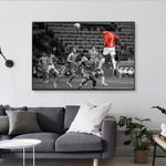 Cristiano Ronaldo Poster, Ronaldo Poster, Football Poster, Header, Manchester United Poster