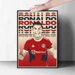 Cristiano Ronaldo Manchester United Print Poster