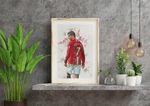Cristiano Ronaldo (Manchester United) Print Poster