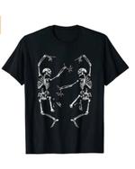 Dance of Death Macabre Skeleton T shirt Skull Halloween 2021 T-Shirt