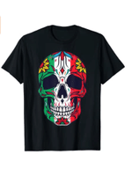 Mexican Dia De Los Muertos Day of the Dead Women Men Boys T-Shirt