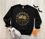 Sanderson Witch Museum Sweatshirt, Sanderson Sisters Halloween, Home Of The Black Flame Candle
