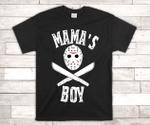 Mama's Boy Shirt / Jason Halloween Shirt / Jason's Mama Boy Shirt