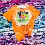 Hocus Pocus Shirt / Loaded Tea To Focus / Loaded Tea Shirt / Halloween Bleached Shirt