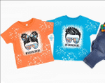 Blippi Toddler Life Bleached Distressed Kid T-Shirt