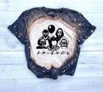 Bleached Friends Shirt, Halloween Outfit, Friends Halloween Kid Bleached Shirt