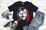 Revolution Shirt, La Casa de Papel, The House of Paper, Salvador Dali, Money Heist Shirt