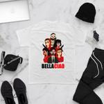 Bella Ciao Unisex Adult Tee T-shirt Short Sleeve Shirt Jersey   Money Heist